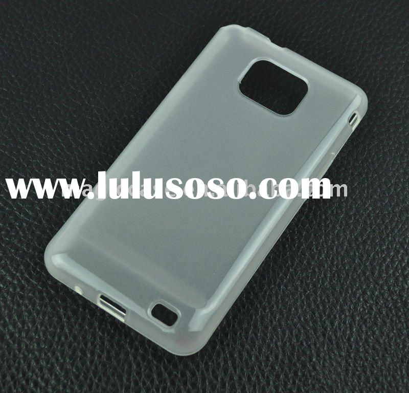 For Samsung i9100 TPU case:For Samsung i9100 Galaxy S2 Gel case:Frosted TPU case