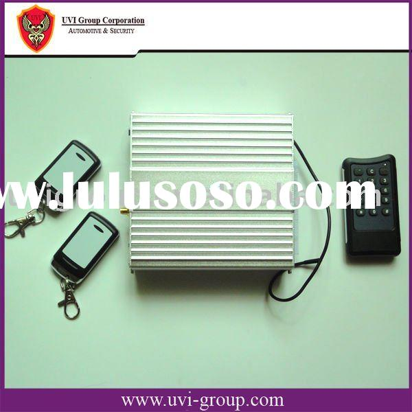GSM car alarm System (With Remote Engine starter/Panic button/SMS alarming)