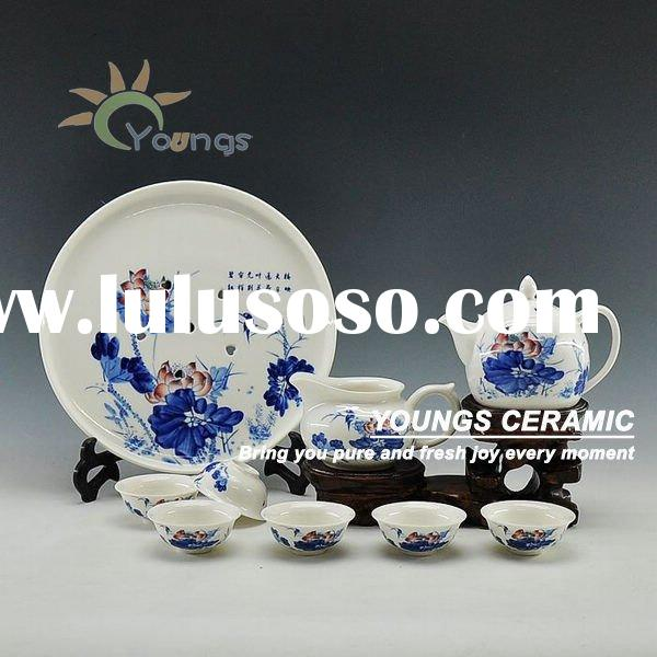 High Quality Chinese Porcelain Tea Set -Kungfu
