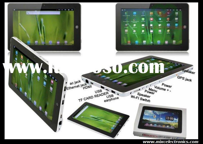 "Hot Sell 10.2"" Flytouch 6 Superpad VI Android 2.3 8GB Tablet PC"