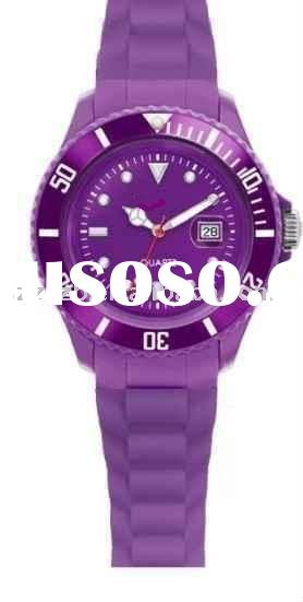 Hot sale silicone watch,brand silicone watch,water resistant silicone watch