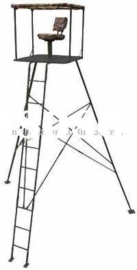 Hunting tripod ladder /hunting tree stand/Rotation hunting tree stand