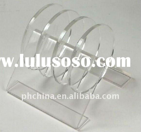 JAP-100 Clear Crystal Plastic Cup Coaster