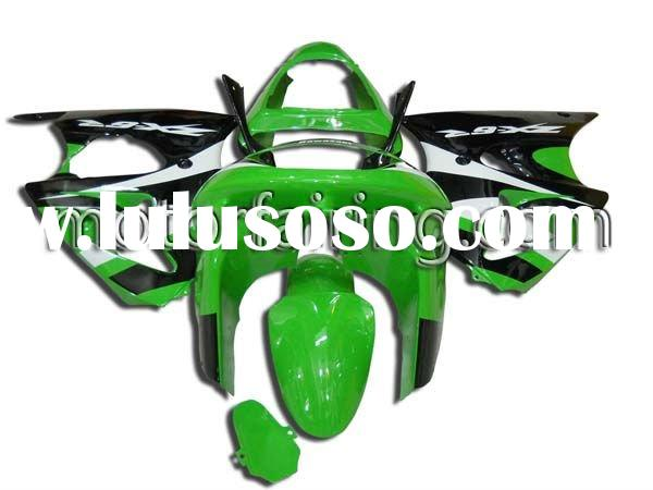KAWASAKI ZX-6R 98-02 Green/Black Motorcycle plastic bodywork parts/body kits/fairing kits ZX6R for s