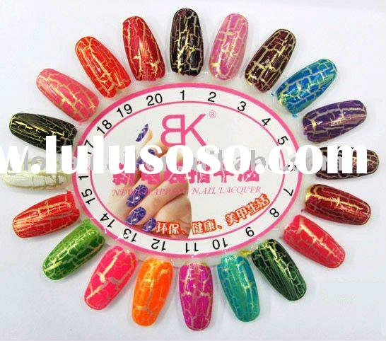 New Chapping Ergonomic Nail Art Lacquer Magic Instant Crack