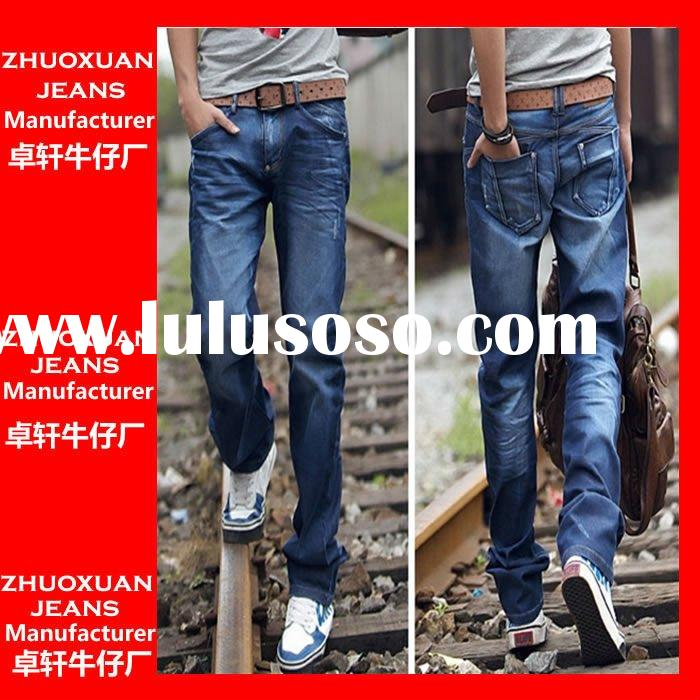 OEM manufacturer hot sell fashion brand new men jeans