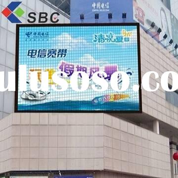 Outdoor full color 3g moving advertisement led screen