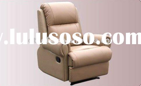 PU recliner sofa & leather recliner chair R113