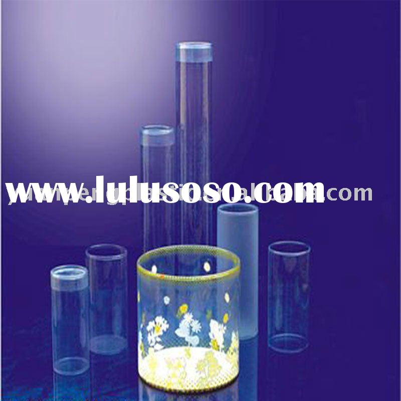 Plastic tubes/cylinder box,clear plastic cylinder tube,cylinder packaging box