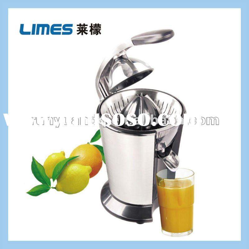 Professional electric citrus press with stainless steel material