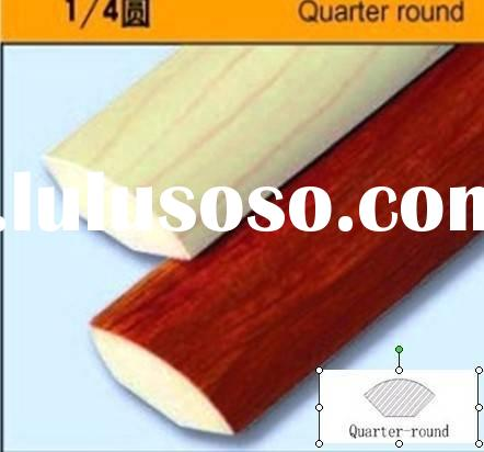 Quarter round(1/4 ccircle) for laminate flooring and hardwood floor