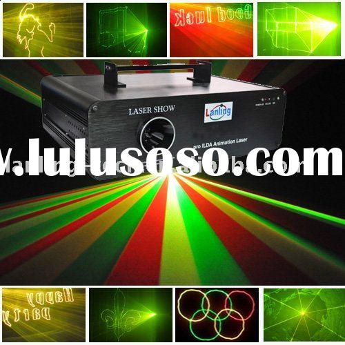 RGY animation ILDA laser light 800mW / DJ club party disco laser show system