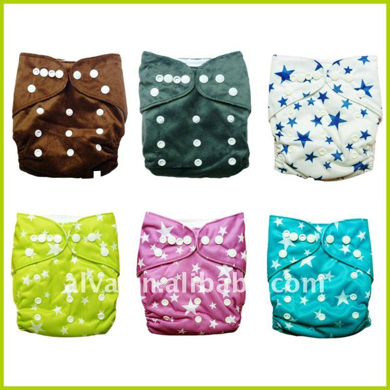 Resuable Baby Cloth Nappy, One Size Cloth Diapers Baby