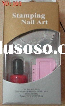 Stamping nail art magic nail art creative nail art
