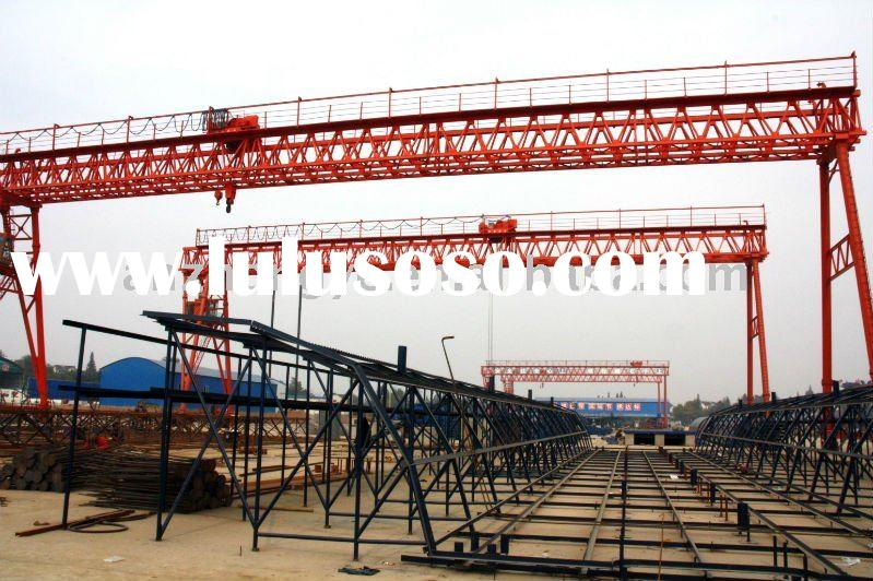 The triangular truss of electric hoist gantry crane