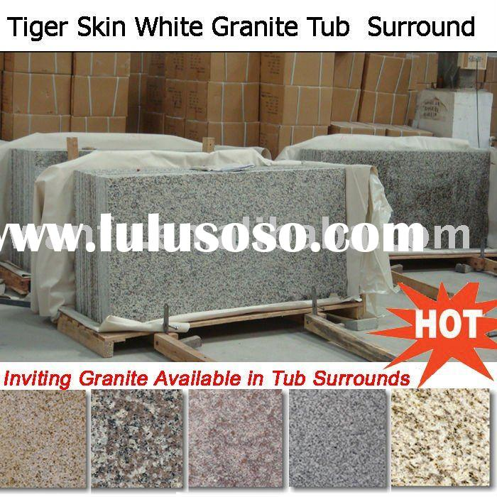 Tiger Skin White Granite Shower Surround