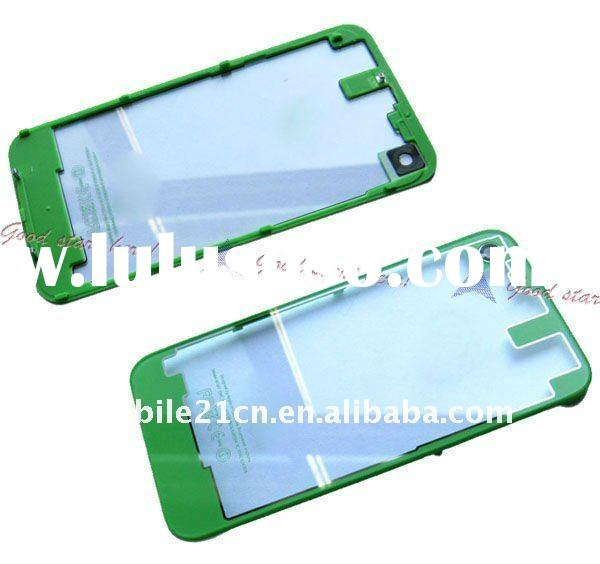 Transparent Clear Green Glass Back Housing With Bezel For iPhone 4gs 4s replacement