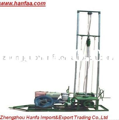 Two-person Small HF80 Drilling Shallow Water Well Rigs