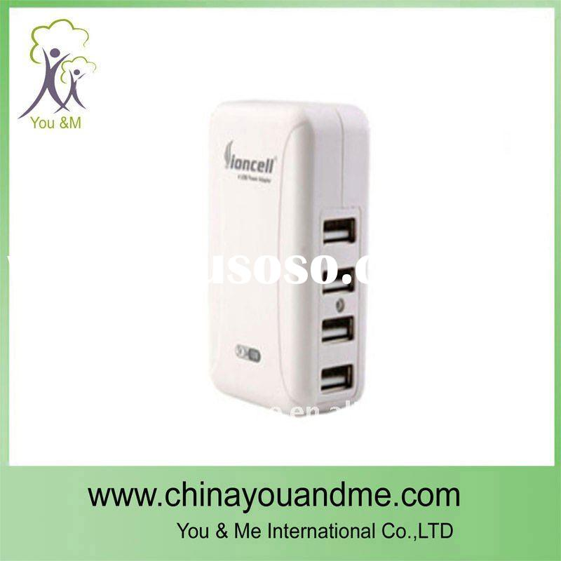 Universal 4 Port USB Travel Charger