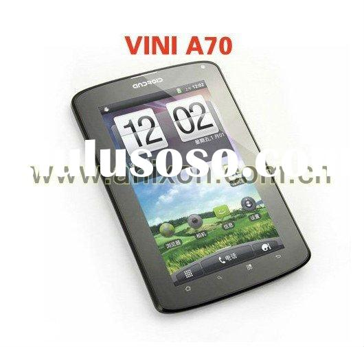 """(A70) 7"""" MTK phone MID Tablet PC with multi touch android 2.3 wifi dual sim gps tv bluetooth du"""
