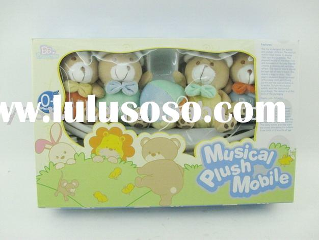 baby toy,baby plush musical mobil toy