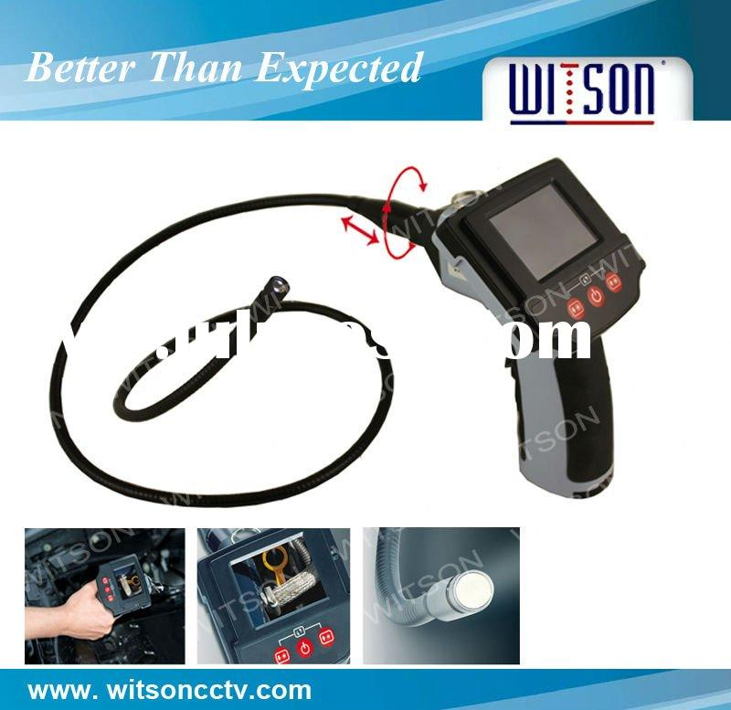 car inspection camera with 2.4 inch LCD monitor and pipe extendible for car inspection