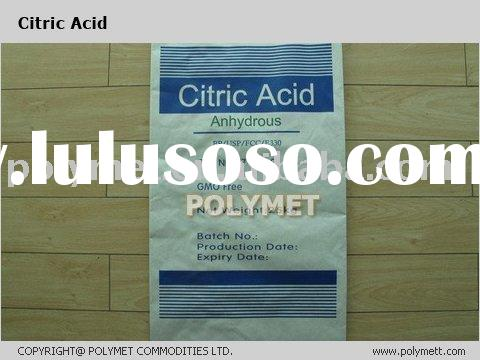 citric acid anhydrous( CAA) HS CODE 29181400