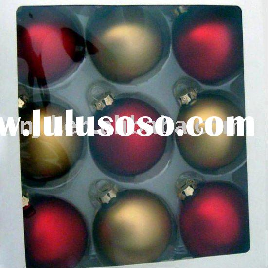 fashionable Homemade clear glass ball ornaments