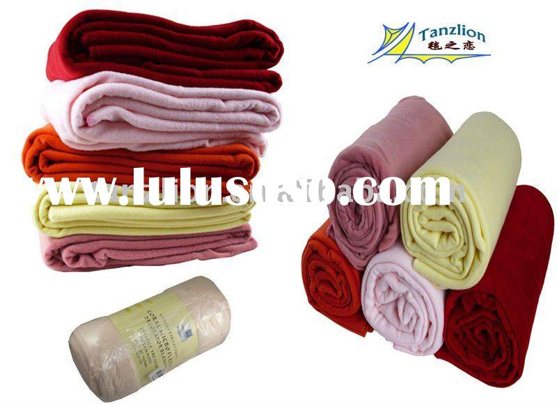 high quality blanket polyester with lowest price
