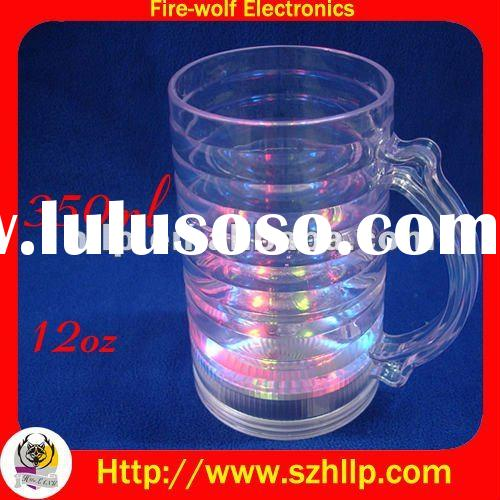 led beer glass,led flashing cup China factory&exporter