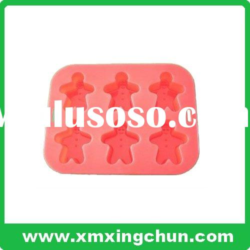 man-shaped silicone cup cake mould