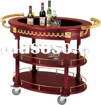 meal and beverage cart/Food and Beverage Cart/Beverage Car Wine Trolley/Food Cart