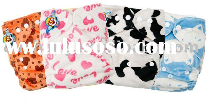 one size baby cloth diapers