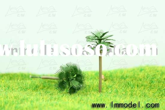 palm tree, model tree for train layout, plastic tree, scale model tree,coconut tree