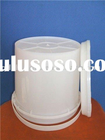 plastic paint buckets with lid and handle 10L SGS pass