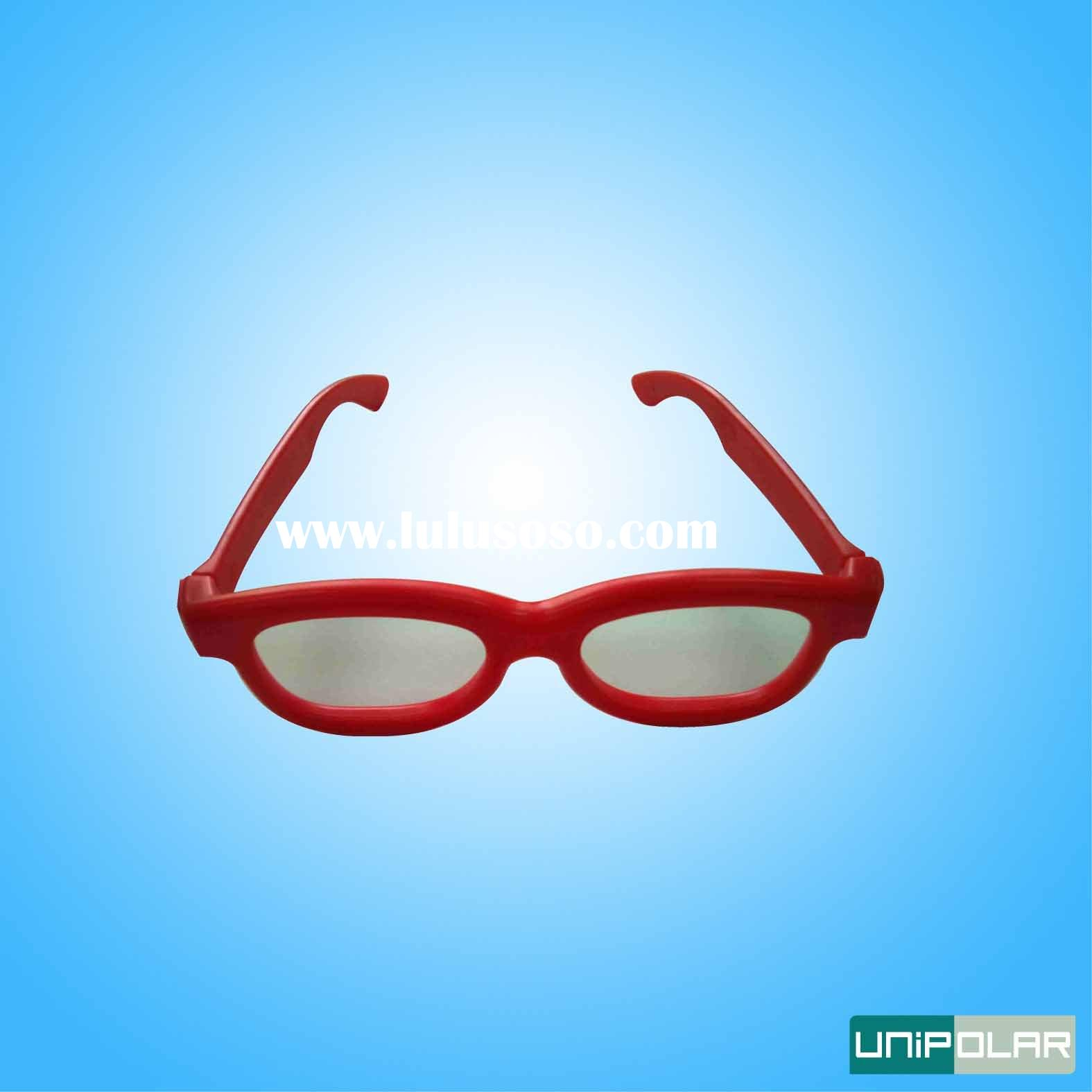 refraction-depth plastic 3d glasses for theatre