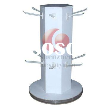 spinner display / turntable stand / rotate shelf /optics frame equipment y/counter top display