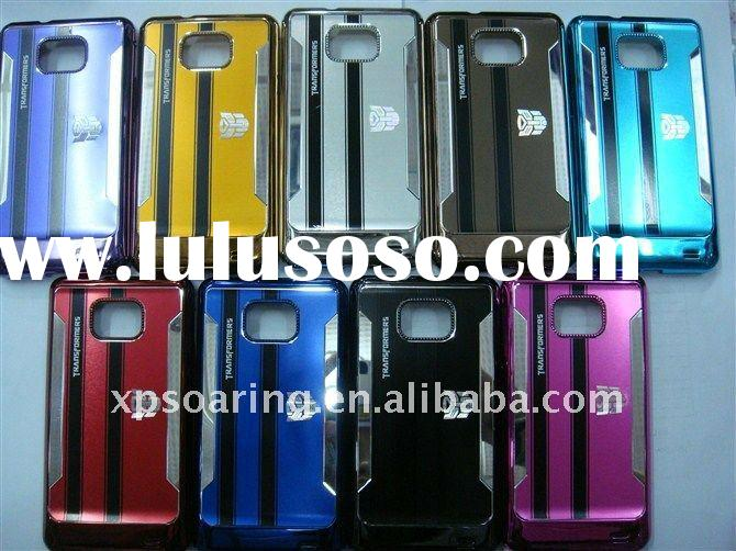 transformers chrome hard case cover for samsung galaxy S2 i9100