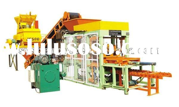 turkish block making machines for sale,concrete brick machine QT 4-15