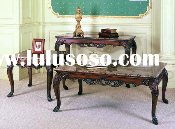 2012 hot selling antique coffee table and side table furniture