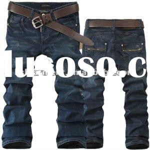 2012 new design fashion jeans for men