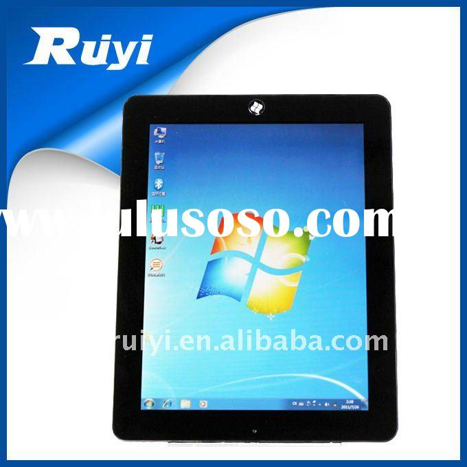 9.7 inch win7 tablet pc dual system capacitive screen sim card slot