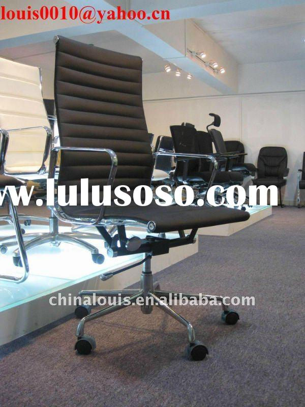 Aluminum Leather Classic Office Chair A093-2