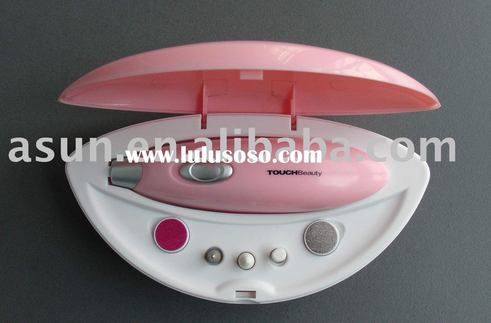 Battery operated manicure set