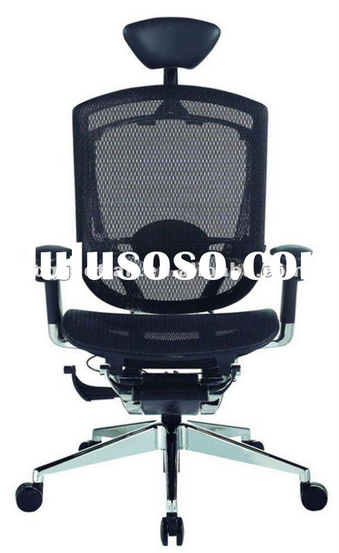 Ergonomic high back executive chair