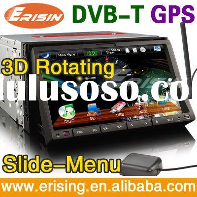 "Erisin 800*480 7"" 2 Din HD Touch Screen Car DVD System GPS Radio DVB-T 168MB Windows CE 6.0"