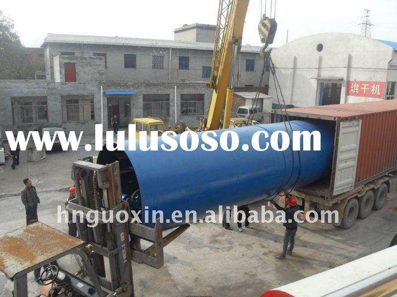Guoxin creditability oil palm fiber dryer production line with bottom price for super environmental