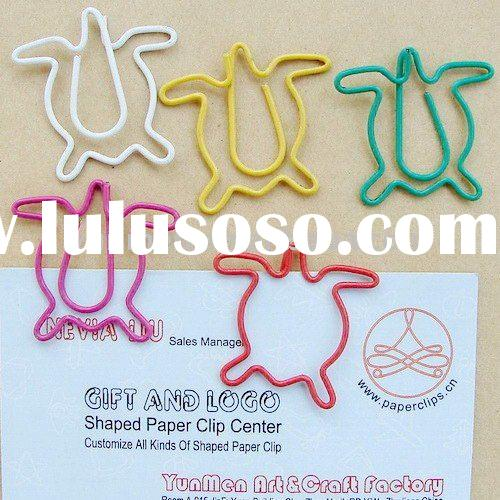 P177 office & school supplies fancy Turtle shaped paper clip