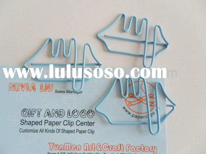 P248-Office Supplies Sailboat Shaped Paper Clip Ship Paper Clip
