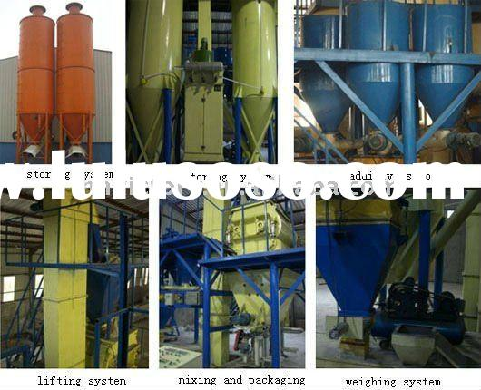 Professional Dry Mortar Production Line for 5,10,15,20,30Ton/H